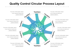 Quality Control Circular Process Layout Ppt PowerPoint Presentation Slides Visual Aids PDF