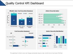 Quality Control Kpi Dashboard Ppt PowerPoint Presentation Show Portrait