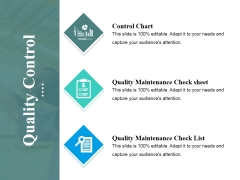 Quality Control Ppt PowerPoint Presentation Ideas Icon