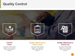 Quality Control Ppt PowerPoint Presentation Styles Tips
