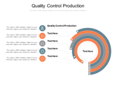 Quality Control Production Ppt PowerPoint Presentation Styles Slideshow Cpb