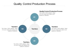Quality Control Production Process Ppt PowerPoint Presentation Pictures Guide