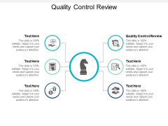 Quality Control Review Ppt PowerPoint Presentation Icon Template Cpb