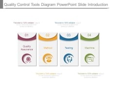 Quality Control Tools Diagram Powerpoint Slide Introduction