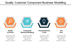 Quality Customer Component Business Modelling Financial Planner Costs Ppt PowerPoint Presentation Pictures Gallery