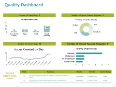 Quality Dashboard Ppt PowerPoint Presentation File Guide