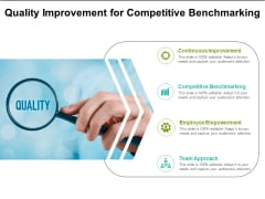 Quality Improvement For Competitive Benchmarking Ppt PowerPoint Presentation Ideas Slides PDF