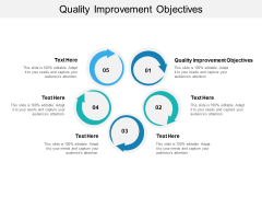 Quality Improvement Objectives Ppt PowerPoint Presentation Pictures Ideas Cpb