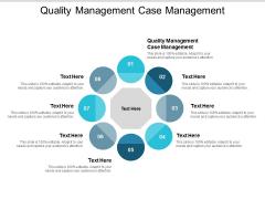 Quality Management Case Management Ppt PowerPoint Presentation Templates Cpb