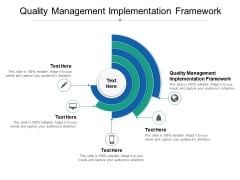 Quality Management Implementation Framework Ppt PowerPoint Presentation Model Example Topics Cpb