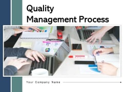 Quality Management Process Analytics Strategy Ppt PowerPoint Presentation Complete Deck
