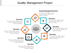 Quality Management Project Ppt PowerPoint Presentation Infographic Template Clipart Images Cpb