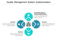 Quality Management System Implementation Ppt PowerPoint Presentation File Outfit Cpb