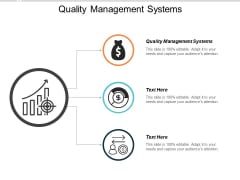 Quality Management Systems Ppt PowerPoint Presentation Summary Templates Cpb