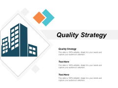 Quality Strategy Ppt PowerPoint Presentation File Tips Cpb