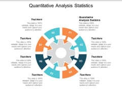 Quantitative Analysis Statistics Ppt PowerPoint Presentation Layouts Layouts Cpb