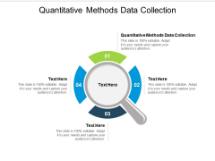 Quantitative Methods Data Collection Ppt PowerPoint Presentation Infographic Template Infographic Template Cpb