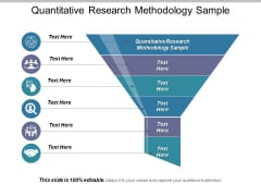 Quantitative Research Methodology Sample Ppt PowerPoint Presentation Professional Microsoft