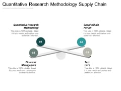 Quantitative Research Methodology Supply Chain Forum Financial Management Ppt PowerPoint Presentation Layouts Icon