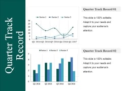 Quarter Track Record Ppt PowerPoint Presentation Icon Show