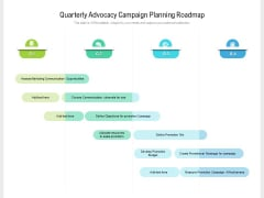 Quarterly Advocacy Campaign Planning Roadmap Download