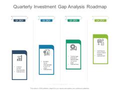 Quarterly Investment Gap Analysis Roadmap Microsoft