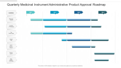 Quarterly Medicinal Instrument Administrative Product Approval Roadmap Template
