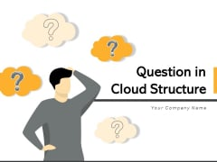 Question In Cloud Structure Businessman Ideas Ppt PowerPoint Presentation Complete Deck