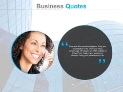 Quote And Customer Relationship Management Powerpoint Slides