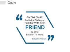 Quote Ppt PowerPoint Presentation Icon Show