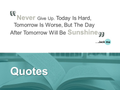 Quotes Business Ppt PowerPoint Presentation File Grid