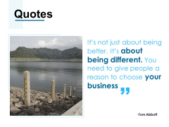 Quotes Business Ppt PowerPoint Presentation Gallery Structure