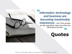 Quotes Communication Ppt PowerPoint Presentation Gallery Pictures