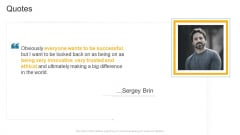 Quotes Company Profile Ppt Pictures Slideshow PDF