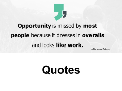 Quotes Opportunity Communication Ppt PowerPoint Presentation Styles Objects