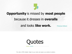 Quotes Opportunity Ppt PowerPoint Presentation Summary Background