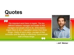 Quotes Ppt PowerPoint Presentation Ideas Slide Portrait