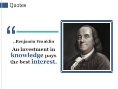 Quotes Ppt PowerPoint Presentation Model Slide Download