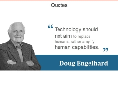 Quotes Ppt PowerPoint Presentation Outline Example Topics