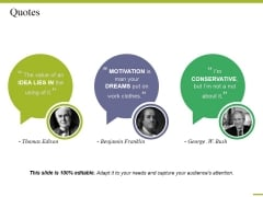 Quotes Ppt PowerPoint Presentation Portfolio Objects