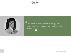 Quotes Ppt PowerPoint Presentation Show