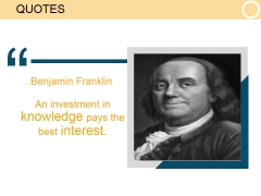 Quotes Ppt PowerPoint Presentation Slide Download
