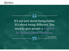 Quotes Ppt PowerPoint Presentation Slides Good