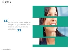 Quotes Ppt PowerPoint Presentation Template