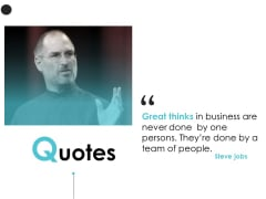 Quotes Team Business Ppt PowerPoint Presentation File Skills