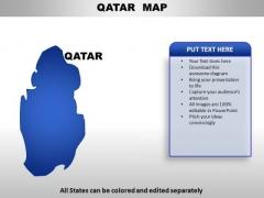 Qatar PowerPoint Maps