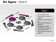 Qc Six Sigma 6 PowerPoint Slides And Ppt Diagram Templates