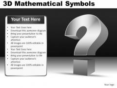 Question Symbols Ppt
