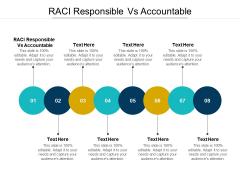 RACI Responsible Vs Accountable Ppt PowerPoint Presentation Professional Design Ideas Cpb Pdf