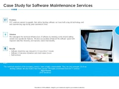 RFP Software Maintenance Support Case Study For Software Maintenance Services Download PDF